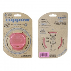 Cuppow Lid - Regular Pink